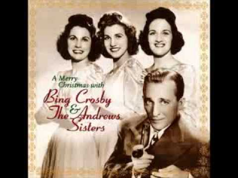 Bing Crosby Andrews Sisters Jingle Bells out take.