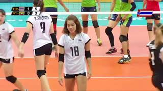 Thailand vs Myanmar / Women's Volleyball SEA Games 2017 HD