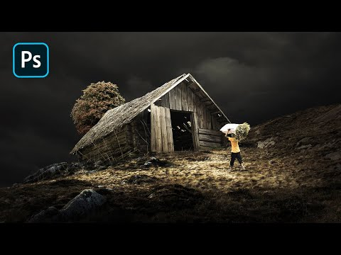 Photo Manipulation Photoshop - Create a Dramatic Light Effect