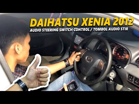Daihatsu Xenia 2012 UPGRADE Audio Steering Switch Control / Tombol Audio Stir. LIVE