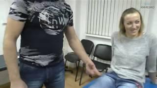 Травма паховой связки. Лимфодренажный массаж