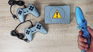 620 Spiele auf nur EINER KONSOLO! - CHINA GADGETS Mini Playstation IM TEST!