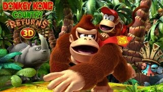 CGR Undertow - DONKEY KONG COUNTRY RETURNS 3D review for Nintendo 3DS