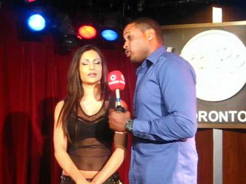Attia Bano (Miss Pakistan Globe 2011) interview with Rogers TV - Part 1