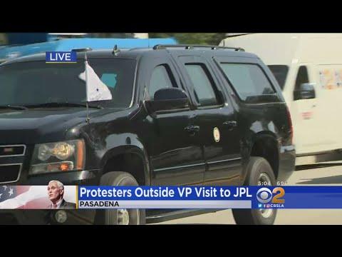 Vice President Pence Visits NASA's Jet Propulsion Laboratory