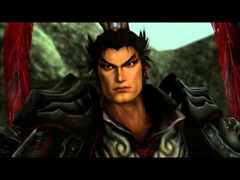 Dynasty Warriors 8 Lu Bu Cutscene - Reunion in Puyang