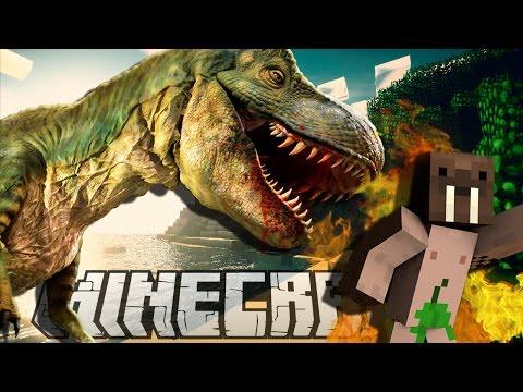 Minecraft mody! DINOZAURY NOWY ŚWIAT! | PAELO CRAFT
