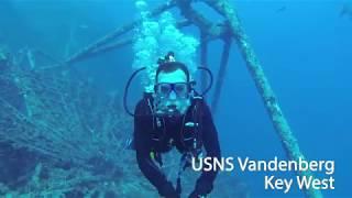Dive to Vandenberg wreck, Key West