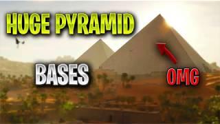 HUGE PYRAMID BASES! FORTNITE FUNNY WINS & FAILS MOMENTS #7