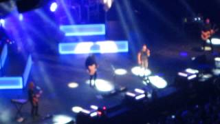 one republic and the script concert live COUNTING STARS