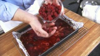 Fresh Raspberry Bars With Chef Scott Peacock