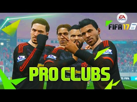 FIFA 17 PRO CLUBS CHAMPIONSHIP WITH THE CREW!!!
