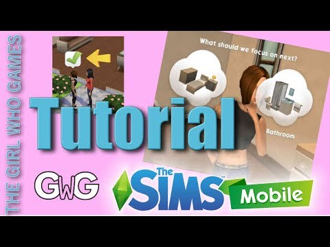 The Sims Mobile- Part One: Starting the Game [CAS & Tutorial]