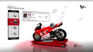 MotoGP 2008 PC Game Rider Lineup