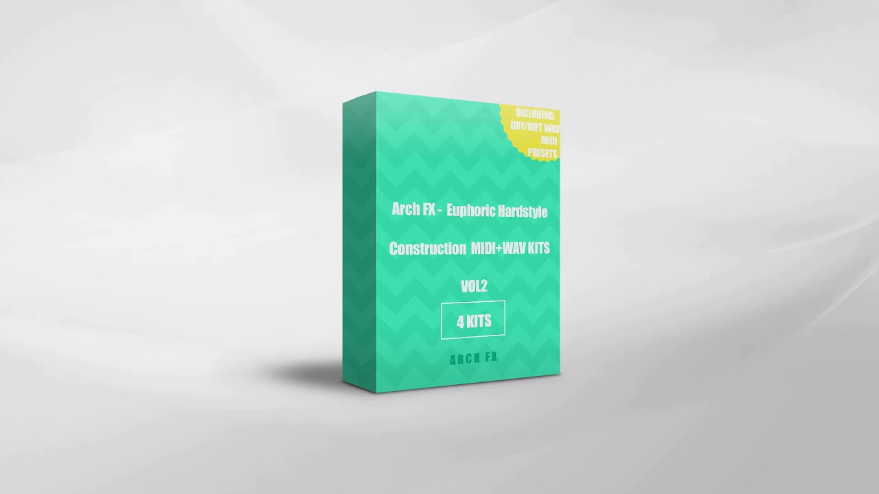 Arch FX - Euphoric Hardstyle Construction KITS MIDI+WAV Vol2 by Arch FX