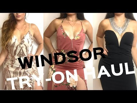 WINDSOR TRY ON HAUL   Homecoming & Fall/Winter Looks