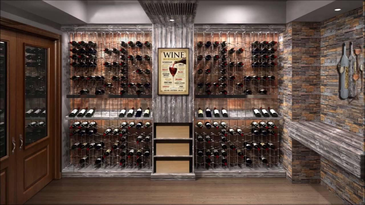 Modern Wine Cellar - YouTube