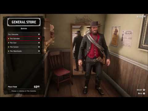 Let's Play Red Dead Redemption 2 Part 052: Mid Mission Shopping and Dominoes thumbnail