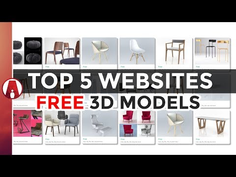 Top 5 Websites for FREE 3D Models