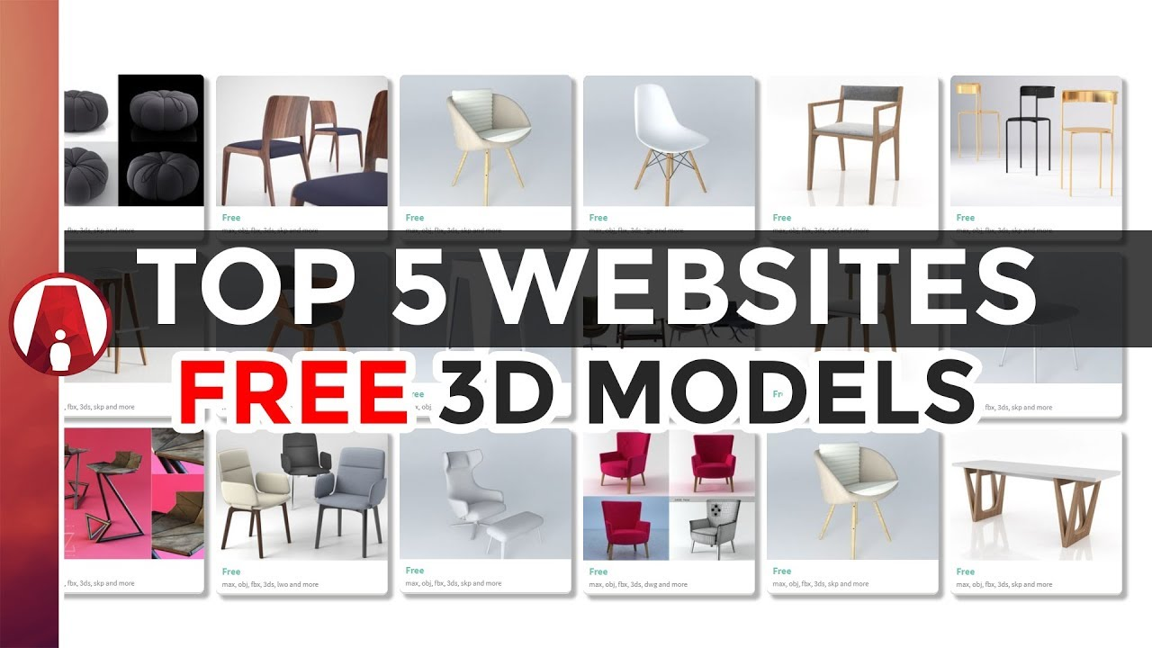 Top 5 Websites For Free 3d Models - free 3d models obj fbx