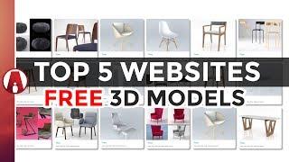 Top 5 Websites for FREE 3D Models