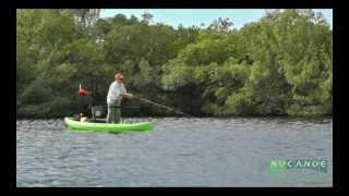 Kayak Fly Fishing in the NuCanoe Frontier 12