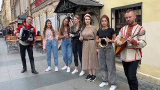"""Ансамбль """"Белое Злато"""" - Верила, верила, верю. Russian Folk Music That Will Make You Thrill"""