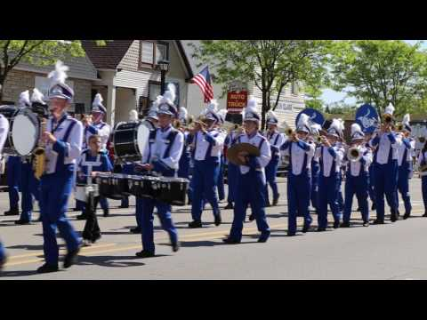 Gladwin High School Band - Memorial Parade 2017