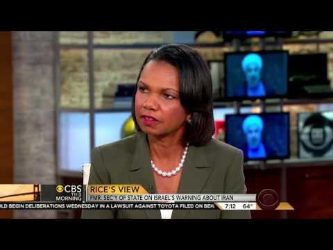 Condi Rice on Iran: