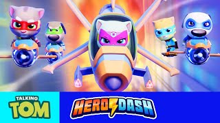 ⚡ TURN ON THE LASER POWER! ⚡ Epic New Gadgets in Talking Tom Hero Dash (GAME UPDATE)