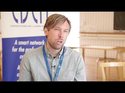 Network learning - Stefan Hrastinski interviewed by Steve Wheeler #EDEN17