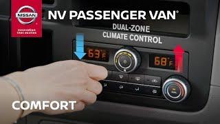 Nissan NV Passenger Van Interior Features