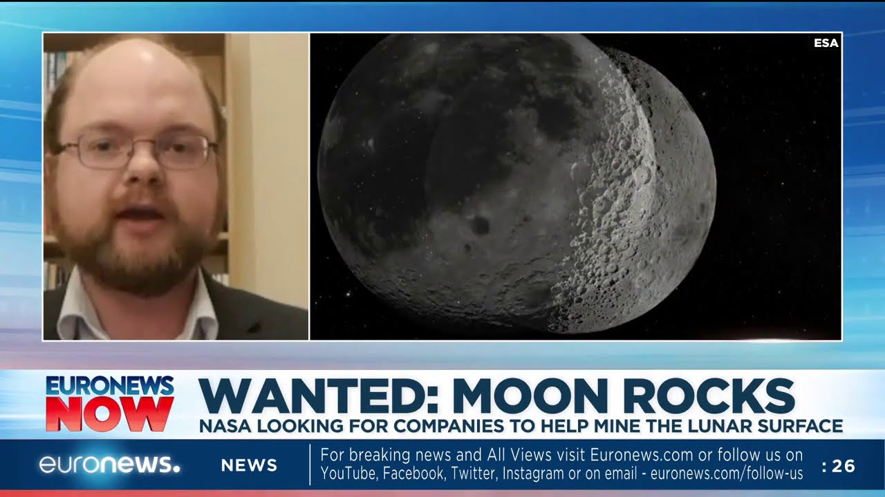 Nasa looking for companies to help mine the lunar surface - euronews (in English)