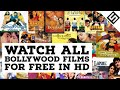 Watch All Bollywood Films For Free
