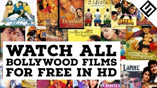 Watch BOLLYWOOD Films For Free Full HD