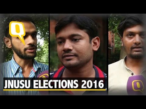 The Quint:JNU Students' Union Election 2016: a Formidable Left Panel vs ABVP
