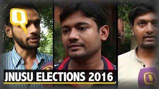 The Quint:JNU Students' Union Election 2016: a Formidable Left Panel vs ABVP