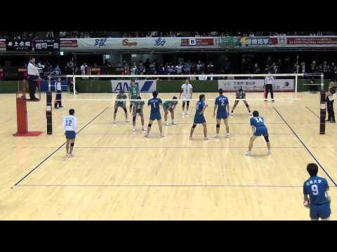 2013バレーボール天皇杯近畿大-JT_5th set