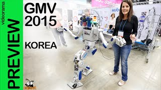 Korea Global Mobile Vision #GMV hubo, irisys, pxlpzzl, feetguider