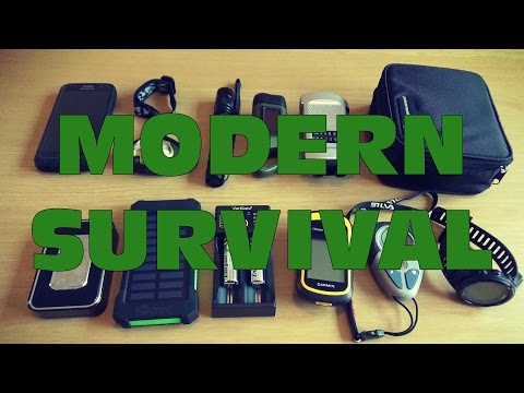 MODERN SURVIVAL - EQUIPMENT THAT WILL HELP YOU SURVIVE