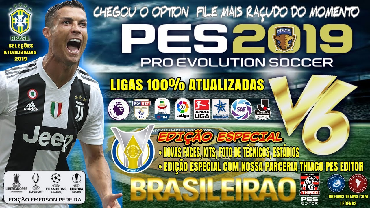 PES 2019 PS4 Emerson Pereira v6 5 - Compatible with DataPack