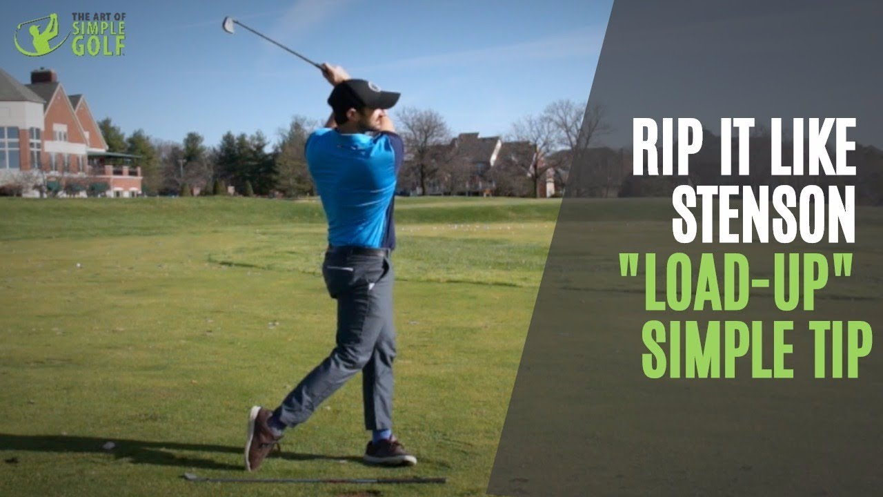 Henrik Stenson Golf Swing Load Up And Pivot Simple Tip To Crush It