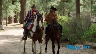 OxyGo FIT allows you to ride horseback!