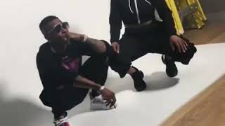 Wizkid starboy in a Photo shoot with Julie Adenuha IN LONDON 2018 VIDEO