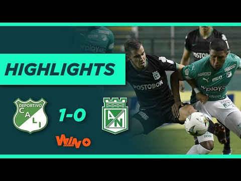 Cali vs Nacional (Gol y Highlights) Liga BetPlay Dimayor 2021-1 | Fecha 18