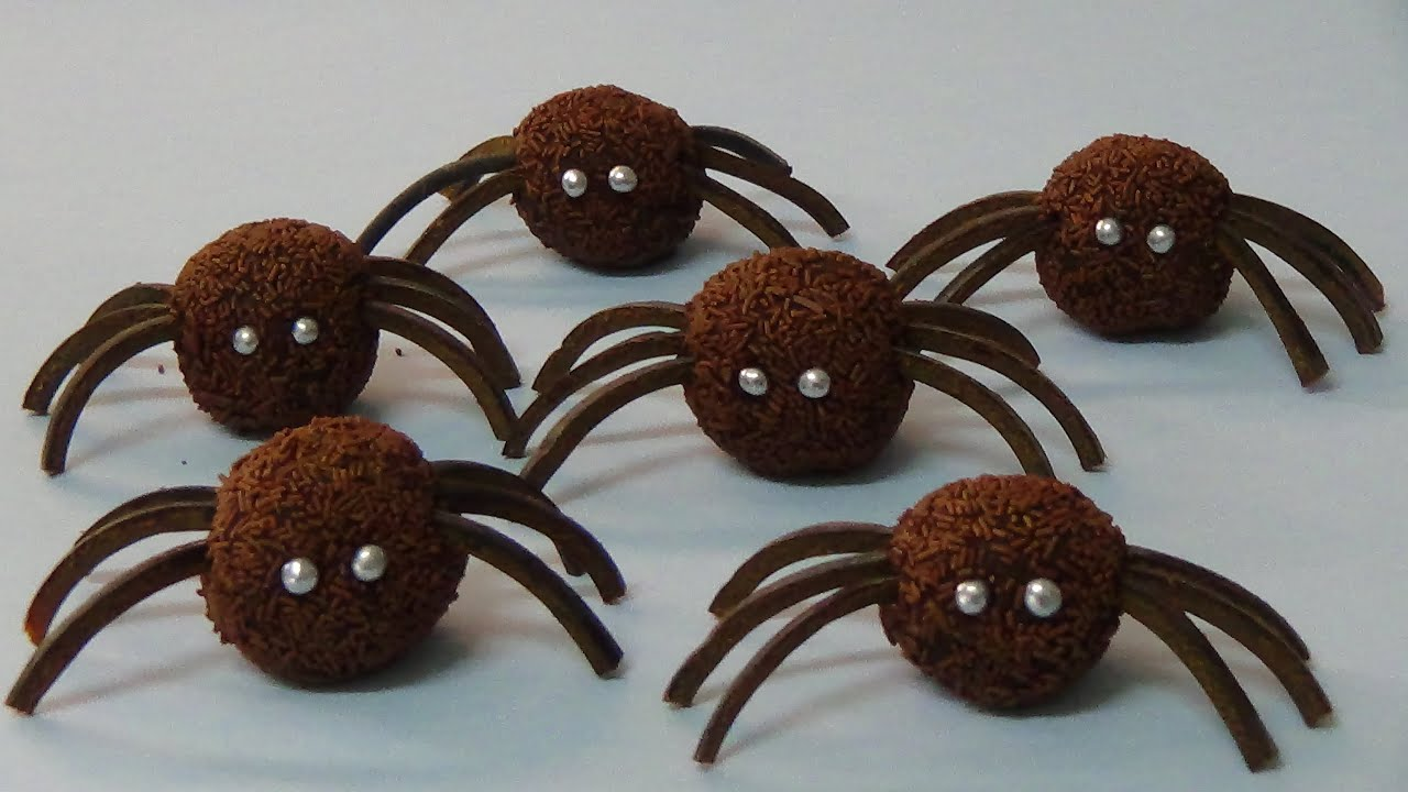 Chocolate Spider Candy
