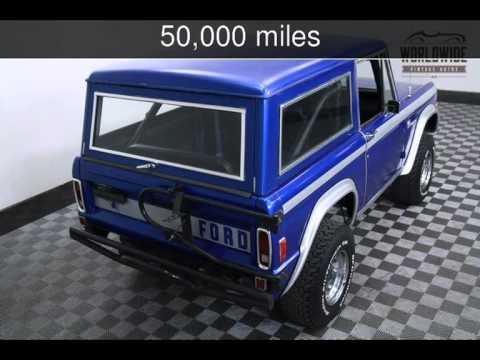 1977 FORD BRONCO  Used Cars - Denver,Colorado - 2015-07-21