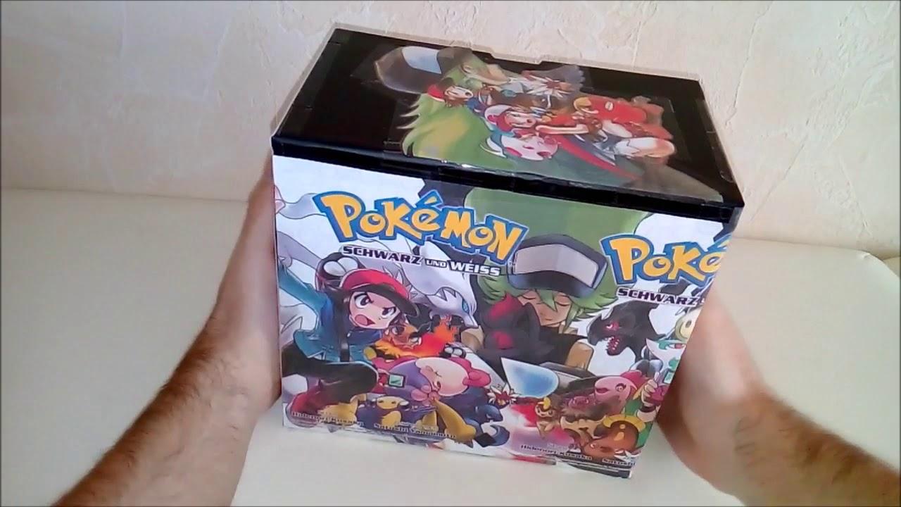 Pokémon Manga Schuber für Schwarz (2) & Weiß (2) selbst gebastelt!! Kompletter Story-Arc