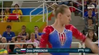 Daria Spiridonova RUS Qual BB Olympics Rio 2016