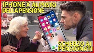 iPhone X al Posto delle Pensioni - Scherzo ai Pensionati [Esperimento Sociale] - theShow